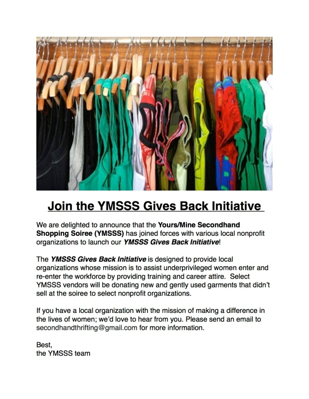 YMSSS Gives Back Initiative
