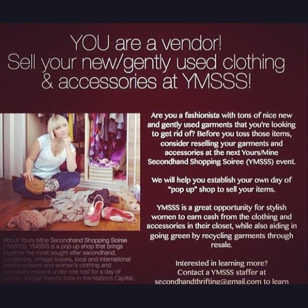 you are a vendor