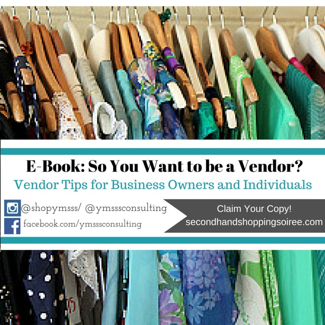 so you want to be a vendor - ebook