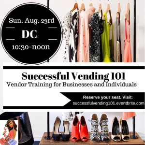 Successful Vending 101 - August 23